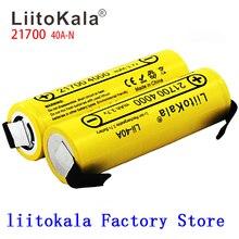 새로운 LiitoKala Lii 40A N 21700 4000mah Li Ni 건전지 3.7V 40A 3.7V 30A 힘 5C 비율 출력