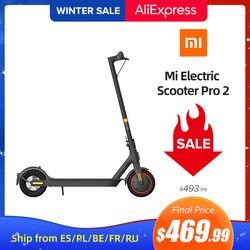 Mi Electric Scooter Pro 2 Original Xiaomi Mijia Foldable Lightweight Skateboard Adult Pro 25km/h Mi E-Scooter Skateboard Pro 2
