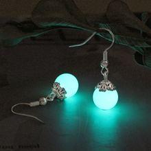 Серьги манжеты светящиеся серьги в темноте шпильки для женщин