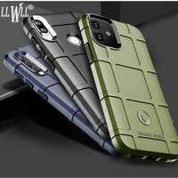 Funda protectora verde militar para Xiaomi, carcasa trasera resistente para Xiaomi Mi 8 9 10 Pro Mi A2 A3 Lite Mi8 Mi9 SE T 9T Mi9T Mi10 Note 10 CC9 Pro Mix 2S