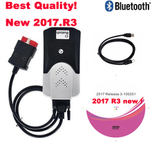 2021 VD DS150E CDP Bluetooth עבור delphis 2017. R3 עם סדק obd2 סורק למכוניות משאיות