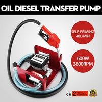 VEVO 230V Electric Fuel Self Priming Transfer Pump Bio Oil Diesel Kerosene 40L/Min