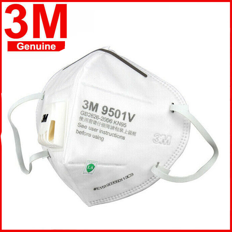 10pcs 3M KN95 N90 Mask 9501 9502 9542 9001V FFP2 Masks With Breath Valve Anti Dust Protective Dustproof PM2.5 Face Mask In Stock
