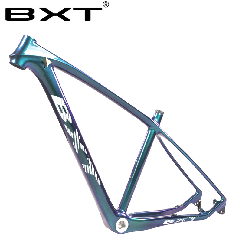 Updated 2020 T800 Carbon Mtb Frame 29er With Fork To Match 29 Full Carbon Mountain Bike Frame  17 19inch 31.6mm Seatpost