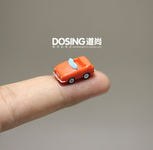 Ultra-Small Mini Version Red Car Small Car Model Miniature Scene Ornaments Action Figures Toys for Children Kids Doll Home Decor(China)