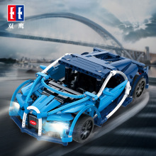 51053 Blue Phantom Racing Car Technic Building Blocks Bricks Toys For Children Assembly SportsCar Model Kids Gifts стоимость