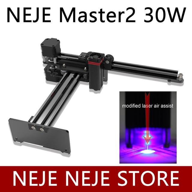 NEJE Master 2 20W/30W graveur et découpeur Laser de bureau Machine de gravure et de découpe Laser imprimante Laser routeur Laser CNC