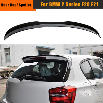 Body Kit Rear Roof Side Spoiler Boot Lip Wing Spoiler For BMW 1 Series F20 F21 2012-2020 Top Wing Roof Spoiler image