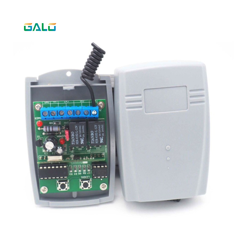 Universal Remote Control Receiver Combination for swing sliding barrier Garage Gate control