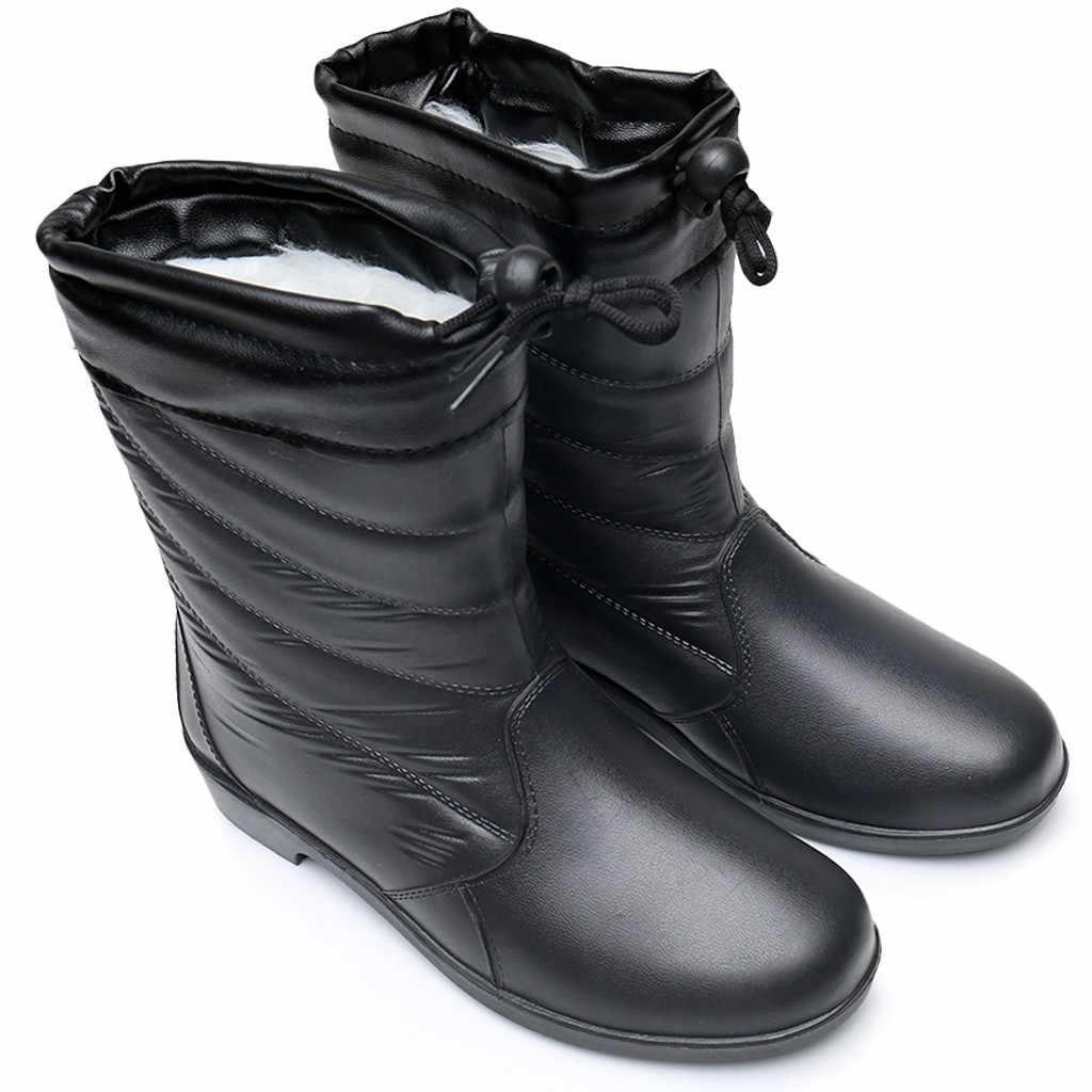 Sonbahar kış Kadın Kar Botları Açık Su Geçirmez yarım çizmeler kadınlar için Pamuk Eklemek Thic yağmur ayakkabıları kadın zapatos de mujer