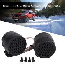 Newest 2pc 500W 12V DC Car Mini Dome Tweeter Loudspeaker High Pitch Spe