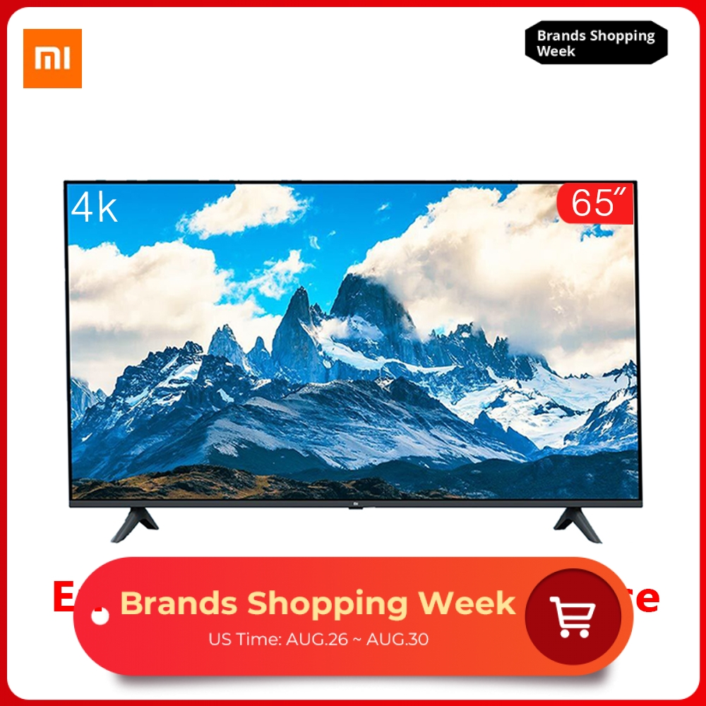 Xiaomi Tv-Set Voice-Control Borderless Dolby-Sound Full-Screen 65-Inches 4K 8GB 2GB E65A