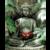 Безрамная статуя Будды Картина на холсте религиозная Настенная