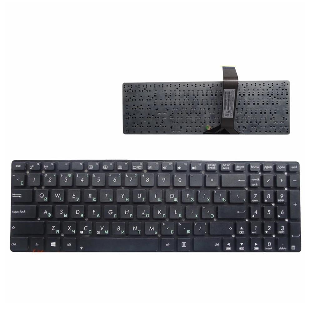 Rus klavye ASUS A55 A55A A55N A55V A55VM A55VD A55VJ A55XI A55DR R500V  R700V RU dizüstü klavye için siyah|Replacement Keyboards