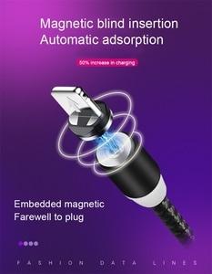 Магнитный usb-кабель для быстрой зарядки, кабель USB Type-C, магнитное зарядное устройство для зарядки данных, кабель Micro USB, мобильный телефон, каб...