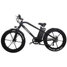 купить 26inch Fat E-bike 48V500W Electric Mountain Bicycle Hybrid Pas Off-road Snow Bike 4.0 Fat Tires EMTB Smart LCD Ebike по цене 94238.33 рублей