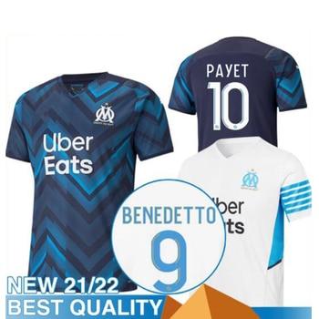 OM De Marseille jersey for women, football shirt From 21, 22, 2021, 2022, de payet beneet SAKAI KAMARA