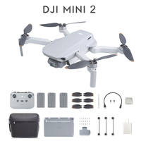 DJI-Mini Dron teledirigido con cámara 4K, cuadricóptero profesional con GPS, menos de 249g, ultraligero, transmisión de 10km, Mavic Mini 2