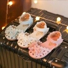 Новорожденный младенец девочки крючком петля сандалии обувь мягкой анти-скольжения кроссовки полые бантом обувь декор