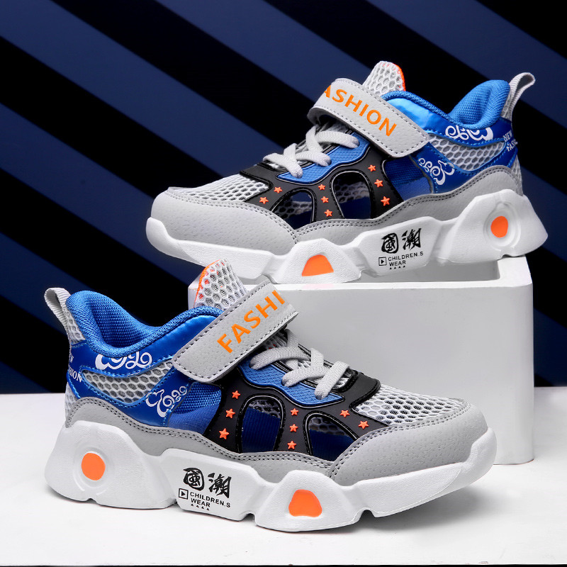 RECOISIN 2020 Summer Kids Shoes Children Boys Sneakers Lightweight Breathable Casual Sport Running Shoes chaussure enfant