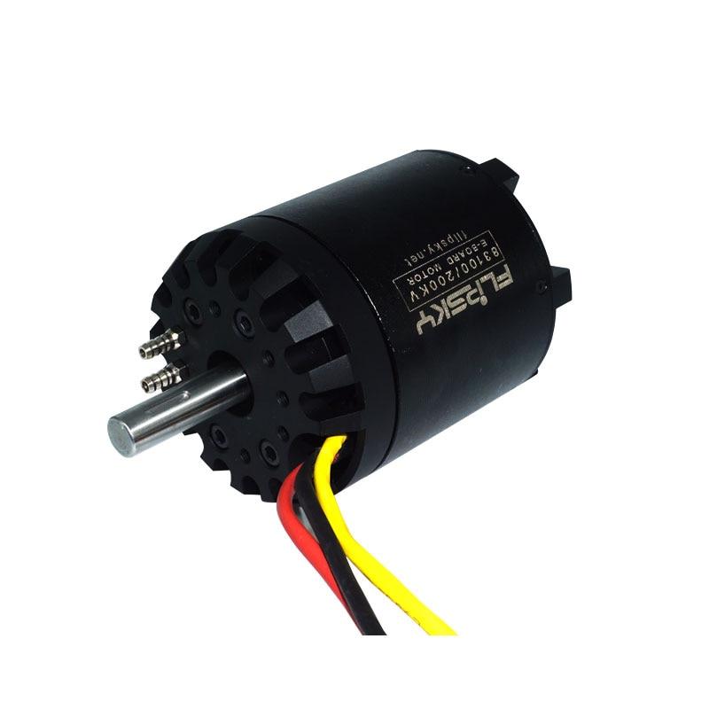 Flipsky 200KV Waterproof E-board Motor Brushless Water Cooling Motor 83100 14S 8000W For Efoil | Ejet Boards | Ebike