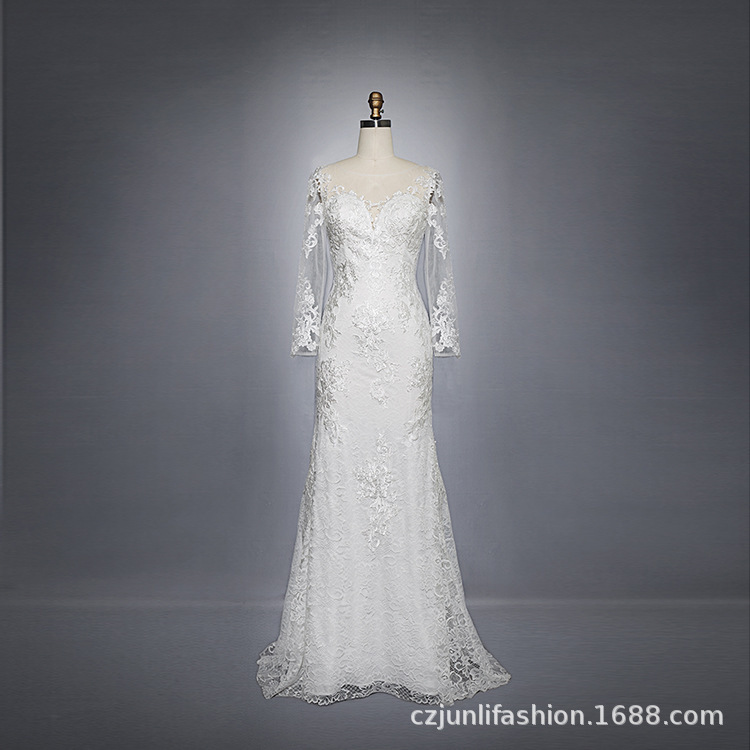 2020 Cocktail Dress Vestidos De Festa Curto The New Dress Waist Long Cultivate Morality Contracted Europe And Sleeve Wedding