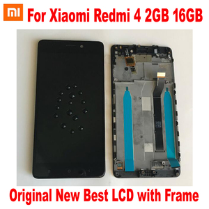 Image 2 - Original New Best Xiaomi Redmi 4 16GB / 4 Pro Prime 32GB LCD Display 10 Point Touch Screen Digitizer Assembly Sensor with Frame