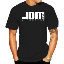 De verão jdm engraçado legal estilo de 15 vidajdm importação preto rua ccr engrenagemverão 2021 t-shirt