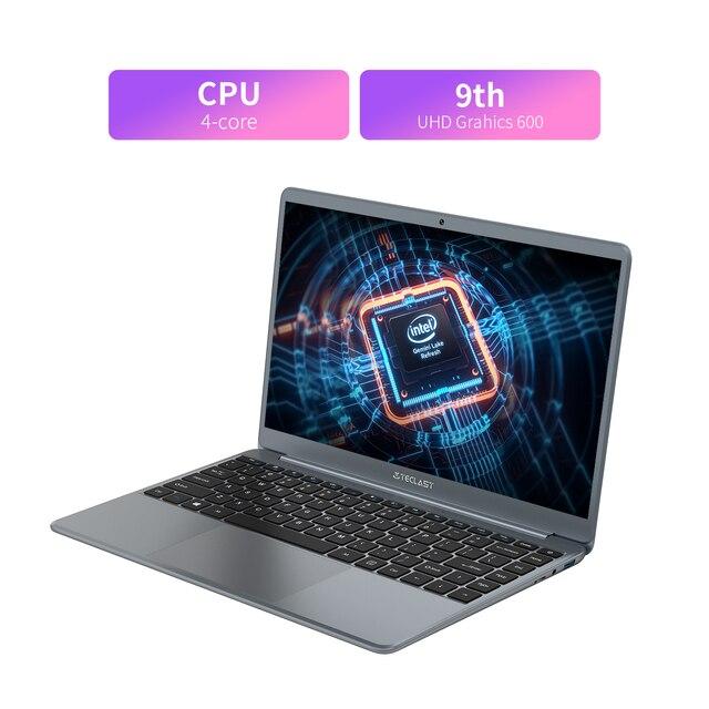 Teclast F7 Plus 2 14.1 Inch Laptop 8GB RAM 256GB SSD Windows 10 Intel Celeron N4120 Intel UHD Graphics 600 Mini-HDMI Notebook 4
