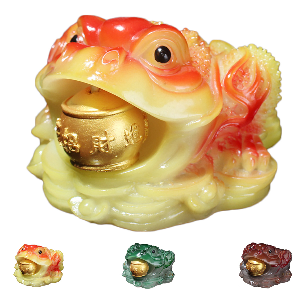 Creative Chinese Tea Pet Lucky Toad Color-Changing Table Ornament Tea Tray Accessories