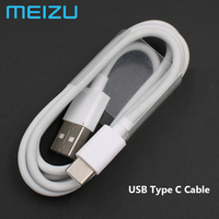 Original MEIZU Typ-C Schnelle Ladegerät QC3.0 Schnell Ladung usb Typ C Daten Kabel Für MEI ZU MX6 MX7 15 PLUS Pro 5 6 6S 7 PLUS 16th 17