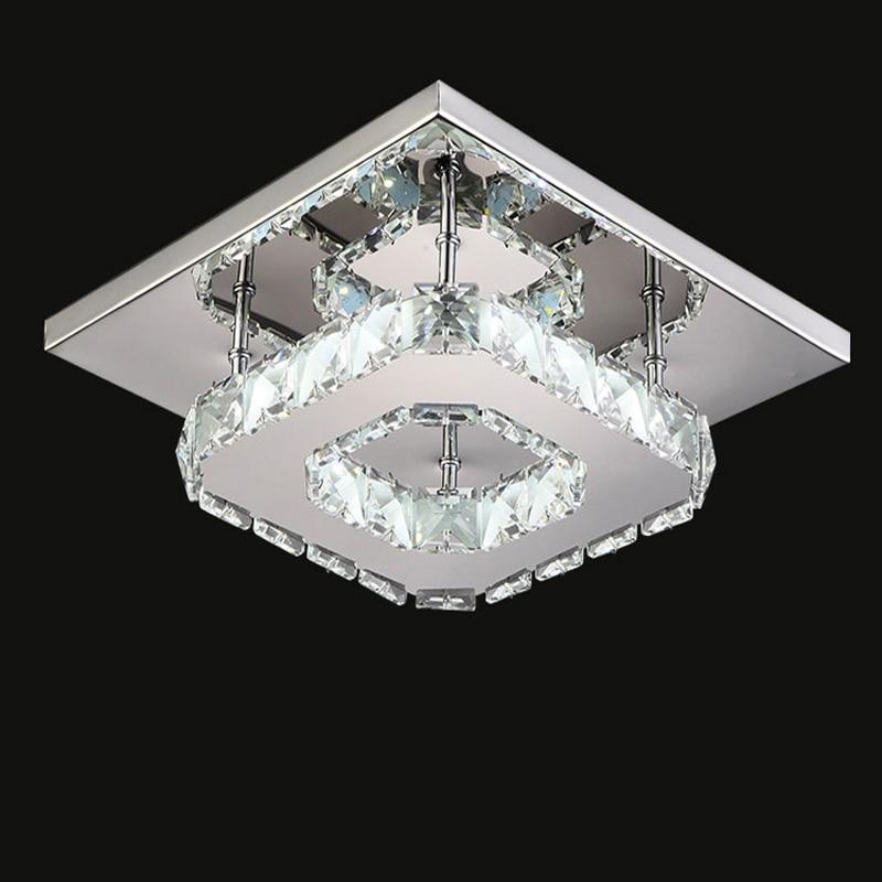 H8f35b5baf3e14e08b93e979578d591edq Indoor ceiling crystal lamp modern LED ceiling lamp living meal bed room home decoration
