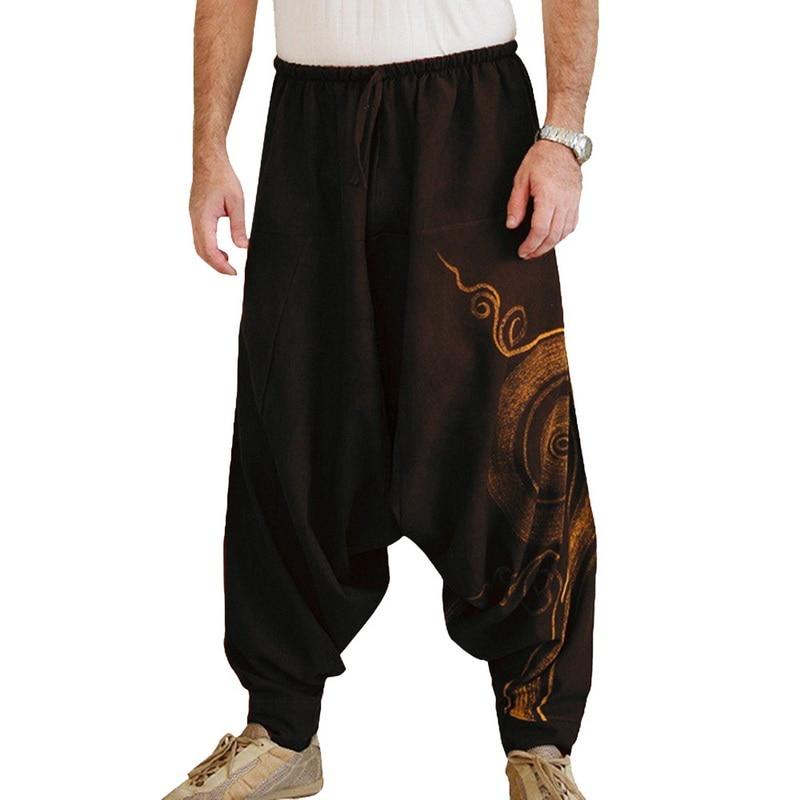 Harem Pants Clothing Desert-Trousers Boho Male Mens Baggy Casual Fashion New Shujin Loose