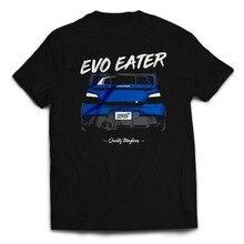 Classic Japanese Car Fans Sti Evo Eater Guy Jdm Tshirt on Sale New Fashion Summer Print Tee Shirts
