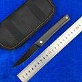 LEMIFSHE новая линия D2 лезвие титановая ручка Флиппер складной нож для кемпинга охоты выживания Карманные Ножи EDC инструменты
