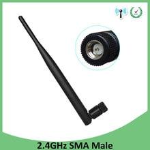 2.4 GHz WIFI anten 5dbi anten SMA erkek konnektör wi-fi anten 2.4 ghz antenne wi-fi kablosuz yönlendirici antenler