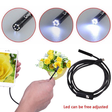 8mm 1.5m Underwater Observation Repair Endoscope Borescope Durable Laboratory Surveying Pipes with Side Audition Education audition