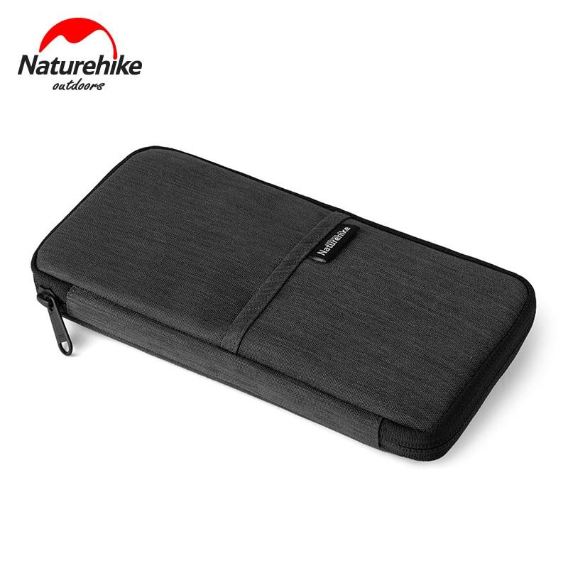 Naturehike Waterproof Multiple Travel Journey Document Organizer Wallet Family Passport Card Holder Ticket Credit Card Bag Case