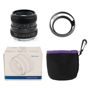 Image 5 - Pergear 50mm F1.8 Large Aperture Manual Focus Prime Fixed Lens for Sony E Mount for Fuji or M4/3 Cameras A6500 A7RII X A2 X T30