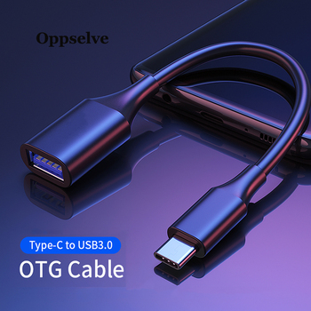 Oppselve USB C To USB Adapter OTG Cable USB Type C To USB 3.0 Female Adapter For Macbook Samsung S10 Huawei Type-C USB-C Adapter