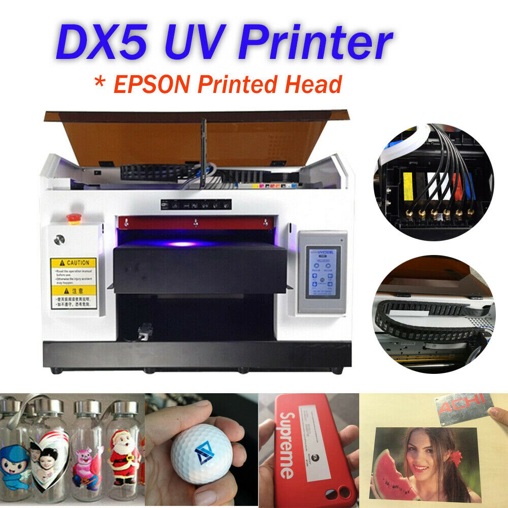 ACHI DX5 UV Printer & Rotary Holder For Bottles Cylindrical 3D Rotation Embossed print phone case, wood, T shirt Print factory|Printers|   - AliExpress