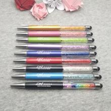 200 adet/grup özel düğün tarihi Elmas dokunmatik kalem kişiselleştirilmiş düğün hediyesi
