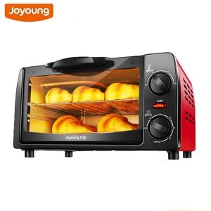 Электрическая духовка Joyoung, бытовая многофункциональная мини-духовка для выпечки, антиожогов, десертов, печенья, хлеба, пиццы, тостер, жаров...