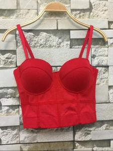 Image 4 - חדש אופנה רשת לדחוף את Bralet נשים מחוך Bustier חזיית לילה מועדון המפלגה קצוץ למעלה