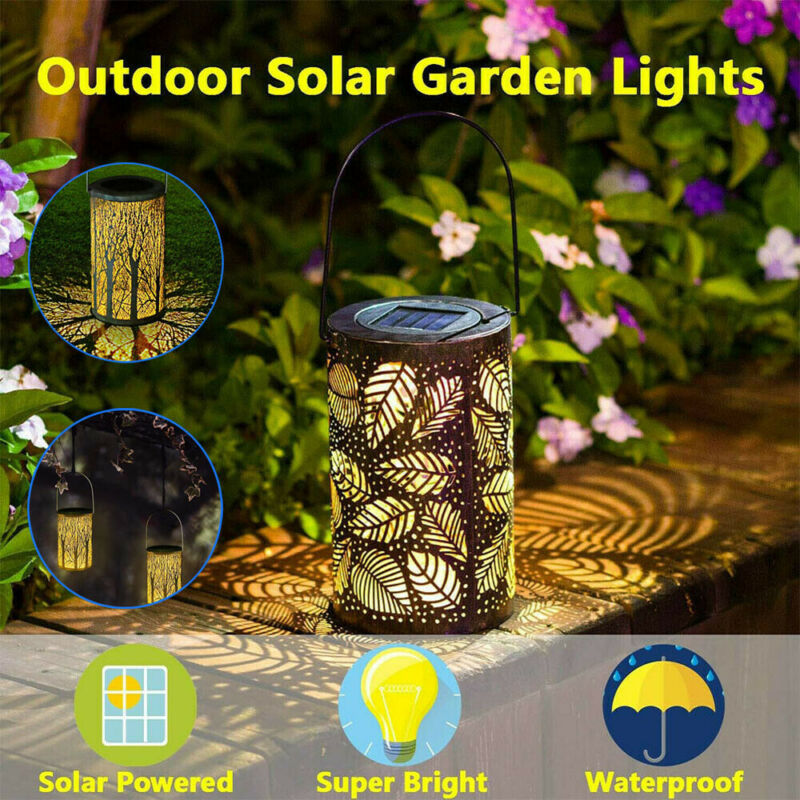 Us 6 7 16 Off Led Solar Garden Path Lighting Waterrproof Decorative Landscape Lights In Lamps From On Aliexpress