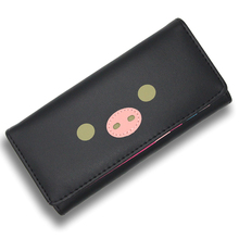 Cute Pig Women Wallets Fashion PU Leather Wallet Women Long Purse Clutch Women Casual Hasp Dollar Price Wallet Handbag Carteira
