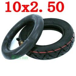 10-дюймовая шина для электрического скейтборда 10x2,5 для электрического скутера, скейтборда 10x2,50, надувная колесная шина, внешняя шина