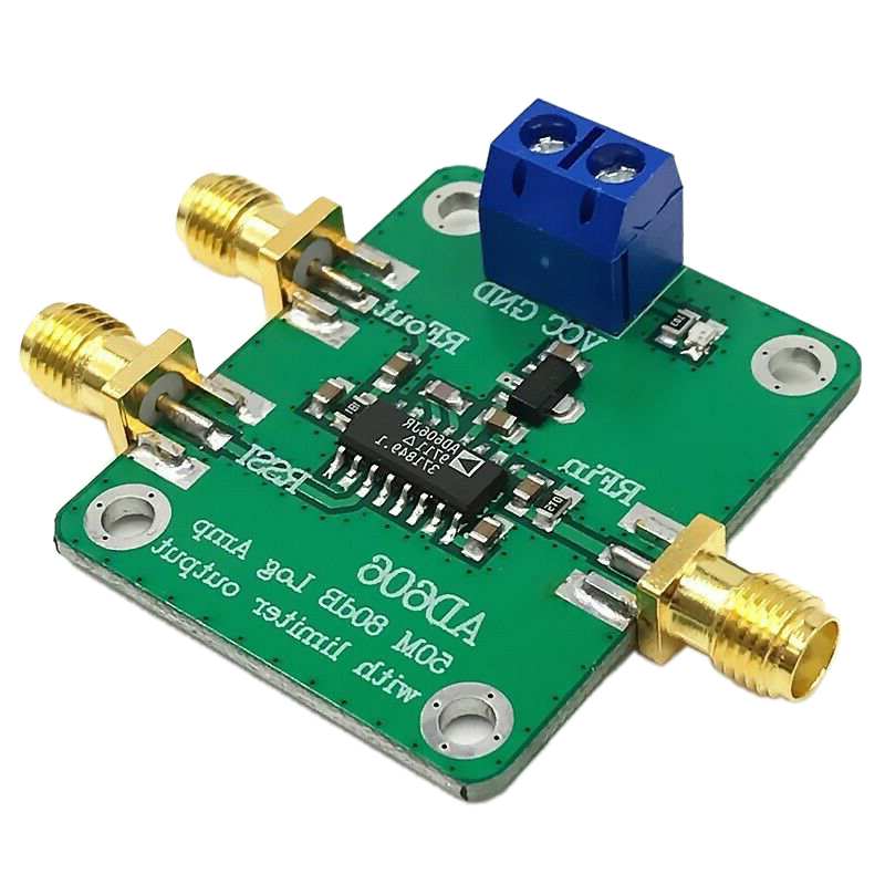 AD606 Module Logarithmic Detector 80DB Demodulation Logarithmic Amplifier Adjustable Limited Output
