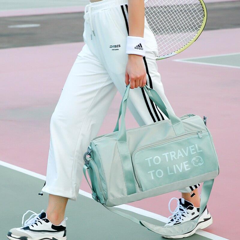 Gym Bag Women Training Sport Bag For Women 2019 Fitness Yoga Bag Dry And Wet Separation Sac De Sport Femme Travel Handbag