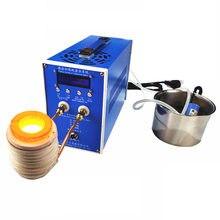 Horno de fundición de grafito crisol, equipo de oro de alta temperatura, punto de fusión, máquina de fusión de oro de 6KW 220 / 110V